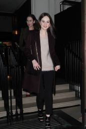 Michelle Dockery - Burberry Festive Film Premiere in London
