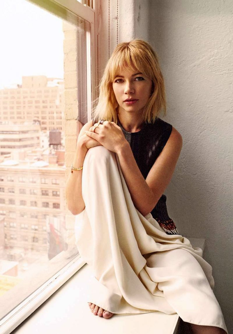 Michelle Williams Photoshoot For Elle France October 2015