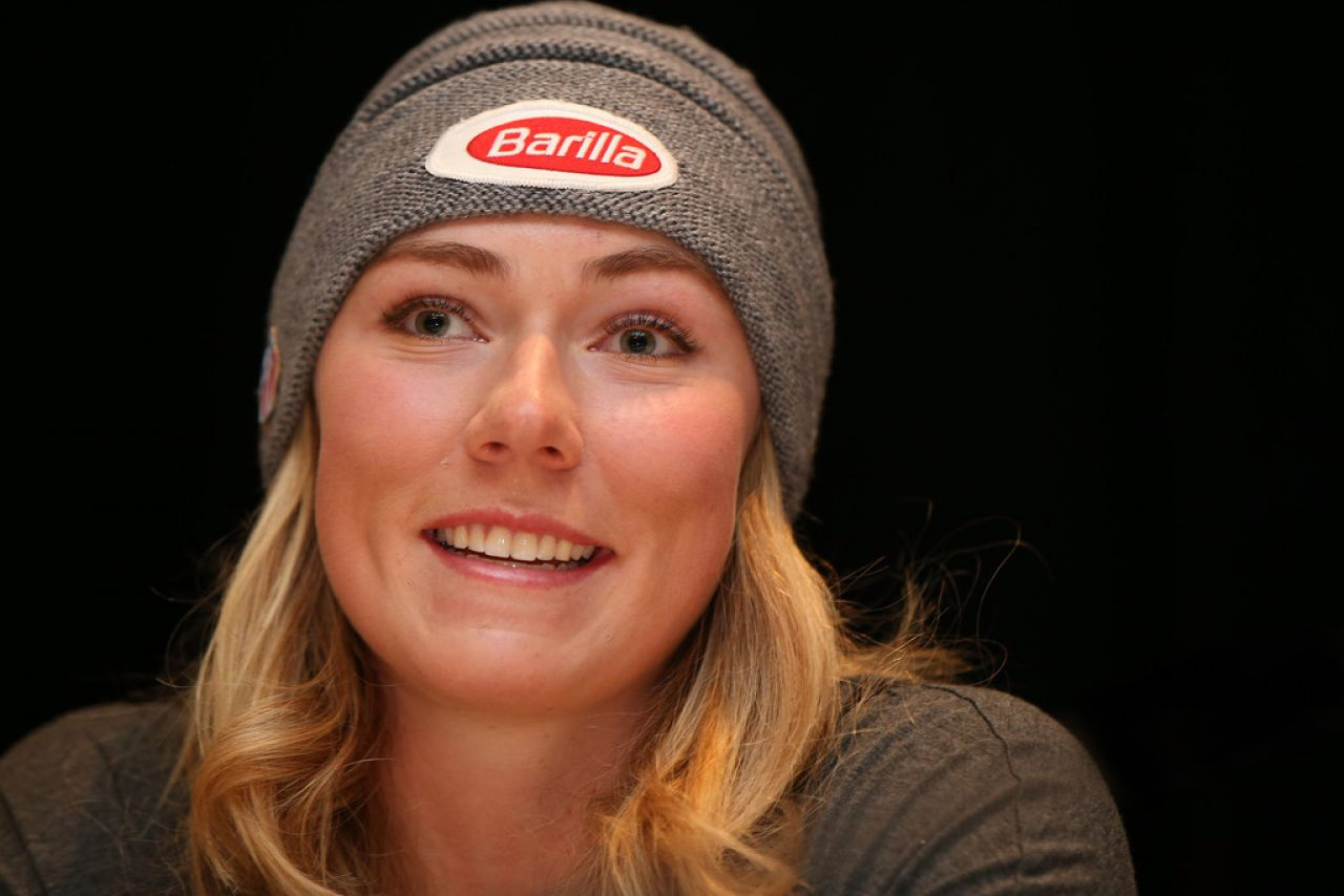 Mikaela Shiffrin U S Women S Ski Team Press Conference