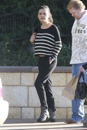 Mila Kunis Casual Style - Out in LA, November 2015