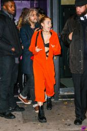 Miley Cyrus Night Out Style - Up and Down Nightclub in New York, November 2015