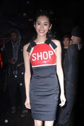 Ming Xi – Arrives at Tao for Victoria's Secret Fashion Show After Party in NYC