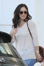 Minka Kelly - Out in Beverly Hills, November 2015