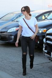 Minka Kelly - Out in West Hollywood, November 2015