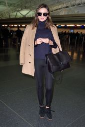 Miranda Kerr Airport Style - at JFK in NYC, November 2015