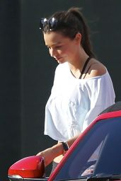 Miranda Kerr - Leaving a Yoga Class in Malibu, November 2015