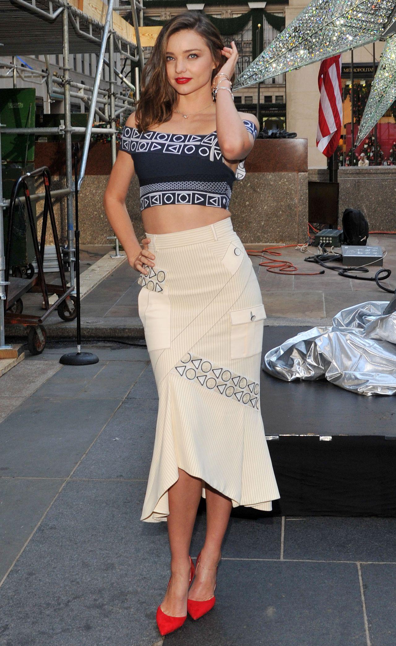 Miranda Kerr - Swarovski Star Raising for 2015 Rockefeller ...