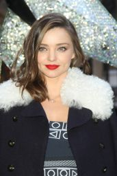 Miranda Kerr - Swarovski Star Raising for 2015 Rockefeller Center Christmas Tree in New York City