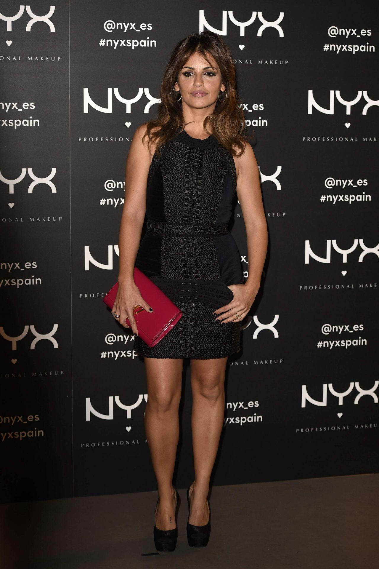Monica Cruz Nyx Cosmetics Launch In Madrid November 2015