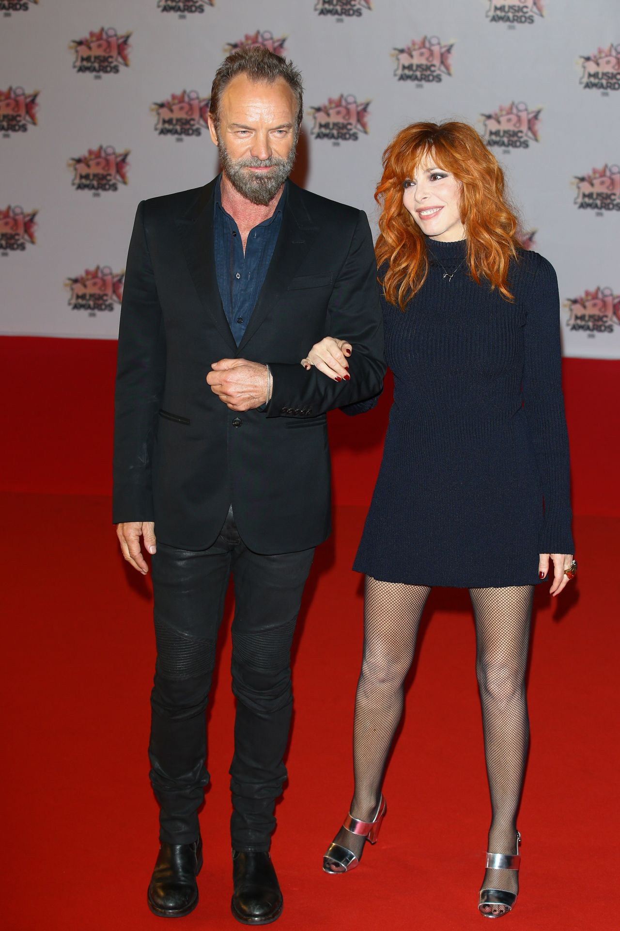 Mylene Farmer 2015 Nrj Music Awards At Palais Des