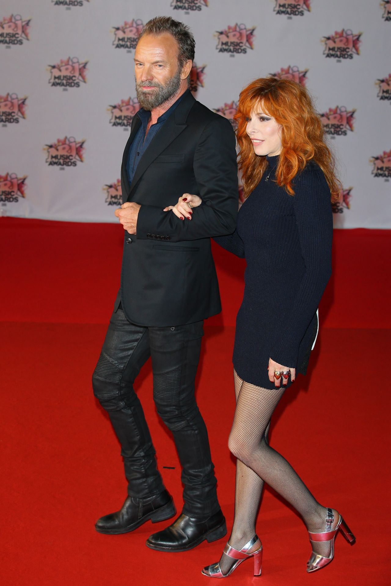 Mylene Farmer  2015 NRJ Music Awards at Palais des - Gq Hairstyles