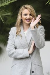 Nadine Coyle - Leaving the ITV Studios in London, November 2015