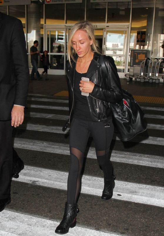 Nastia Liukin at Los Angeles International Airport, 11/23/2015