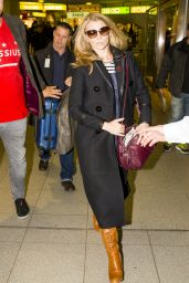 Natalie Dormer - Arrives at Berlin Tegel Airport, November 2015