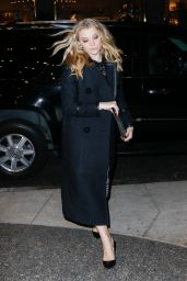 Natalie Dormer - Leaving Her Hotel in NYC, November 2015