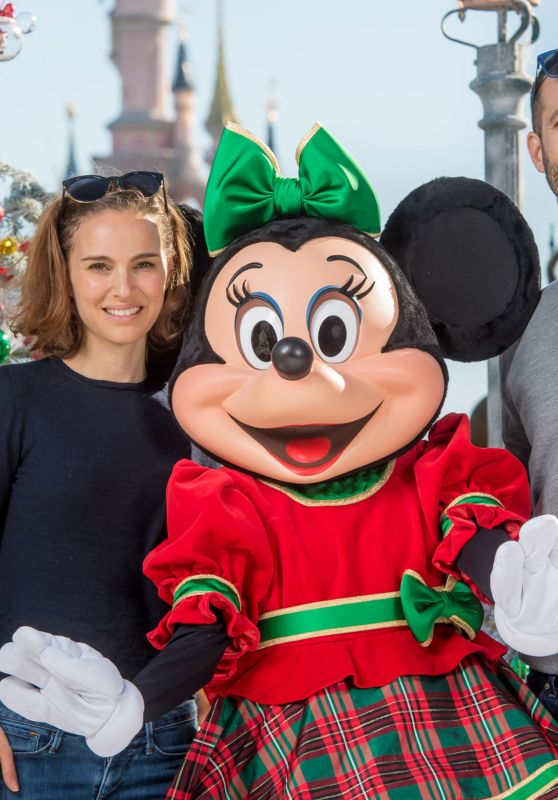Natalie Portman at Disneyland Paris, November 2015