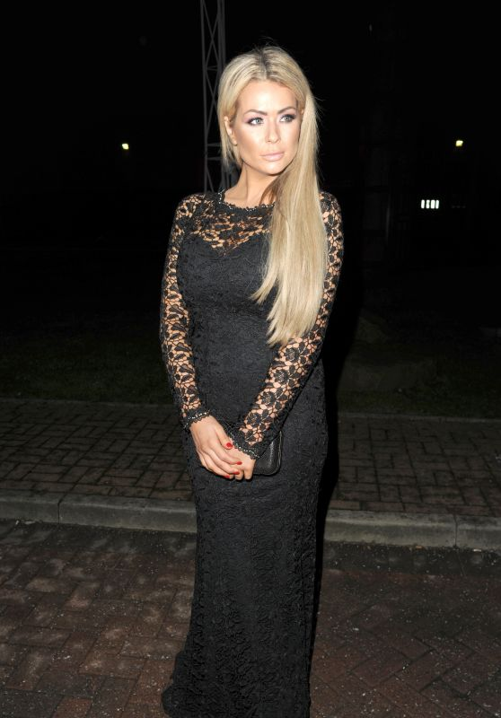 Nicola McLean - James Milner's Nightmare Before Christmas Charity Ball in Manchester