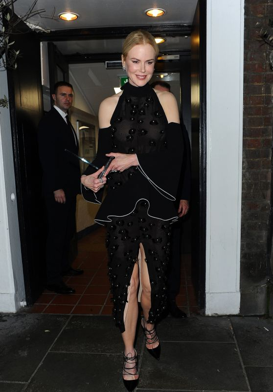 Nicole Kidman - Leaving Claridges Hotel in London, November 2015