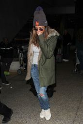 Nicole Scherzinger at Los Angeles International Airport, November 2015