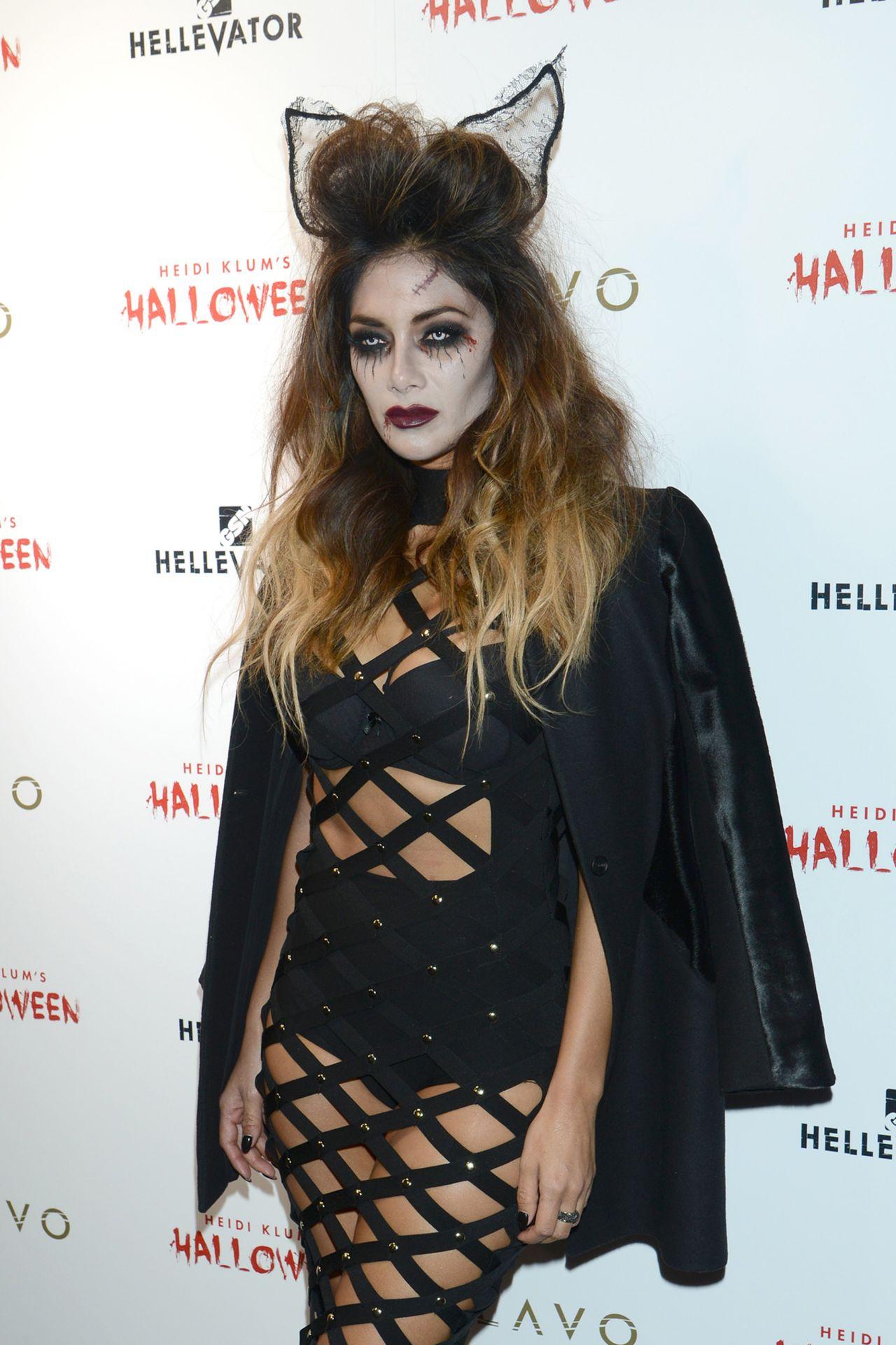 Scherzinger - Heidi Klum Halloween Party in New York City, October ...