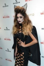 Nicole Scherzinger - Heidi Klum Halloween Party in New York City, October 2015