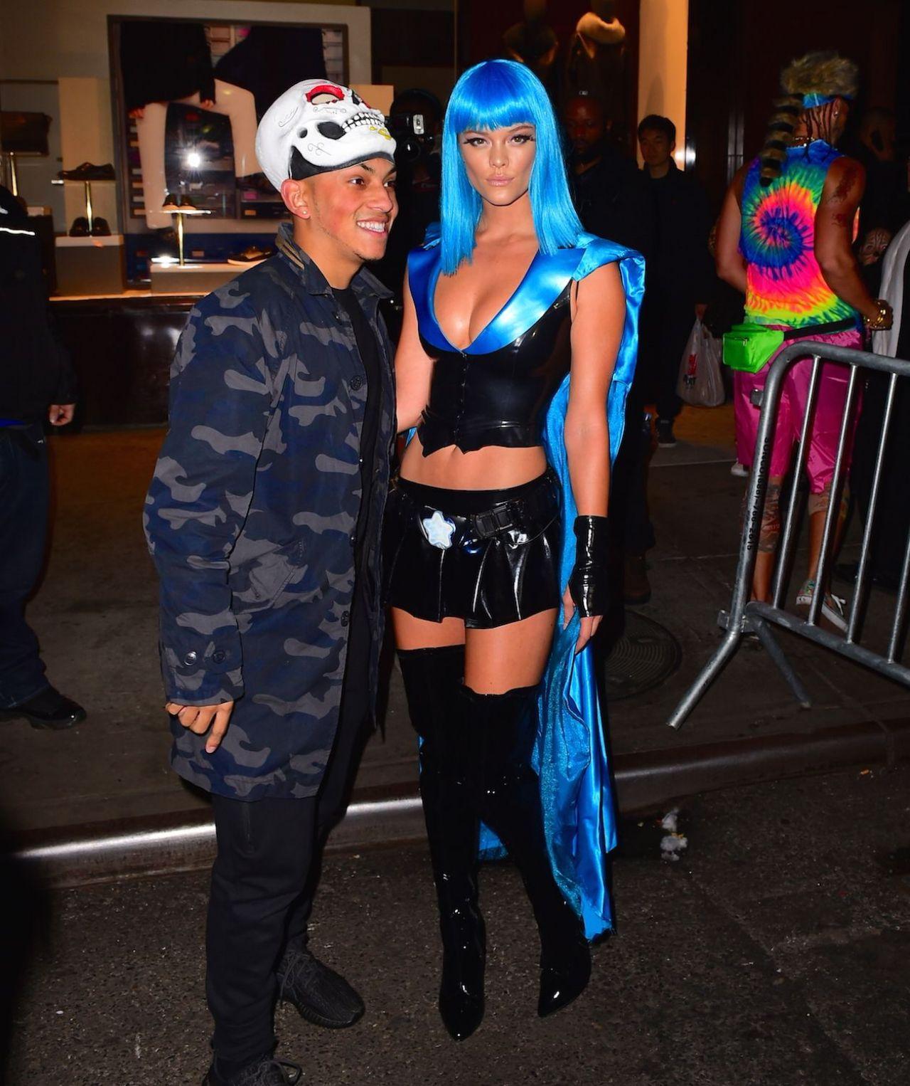 Agdal - Heidi Klum Halloween Party in New York City, October 2015