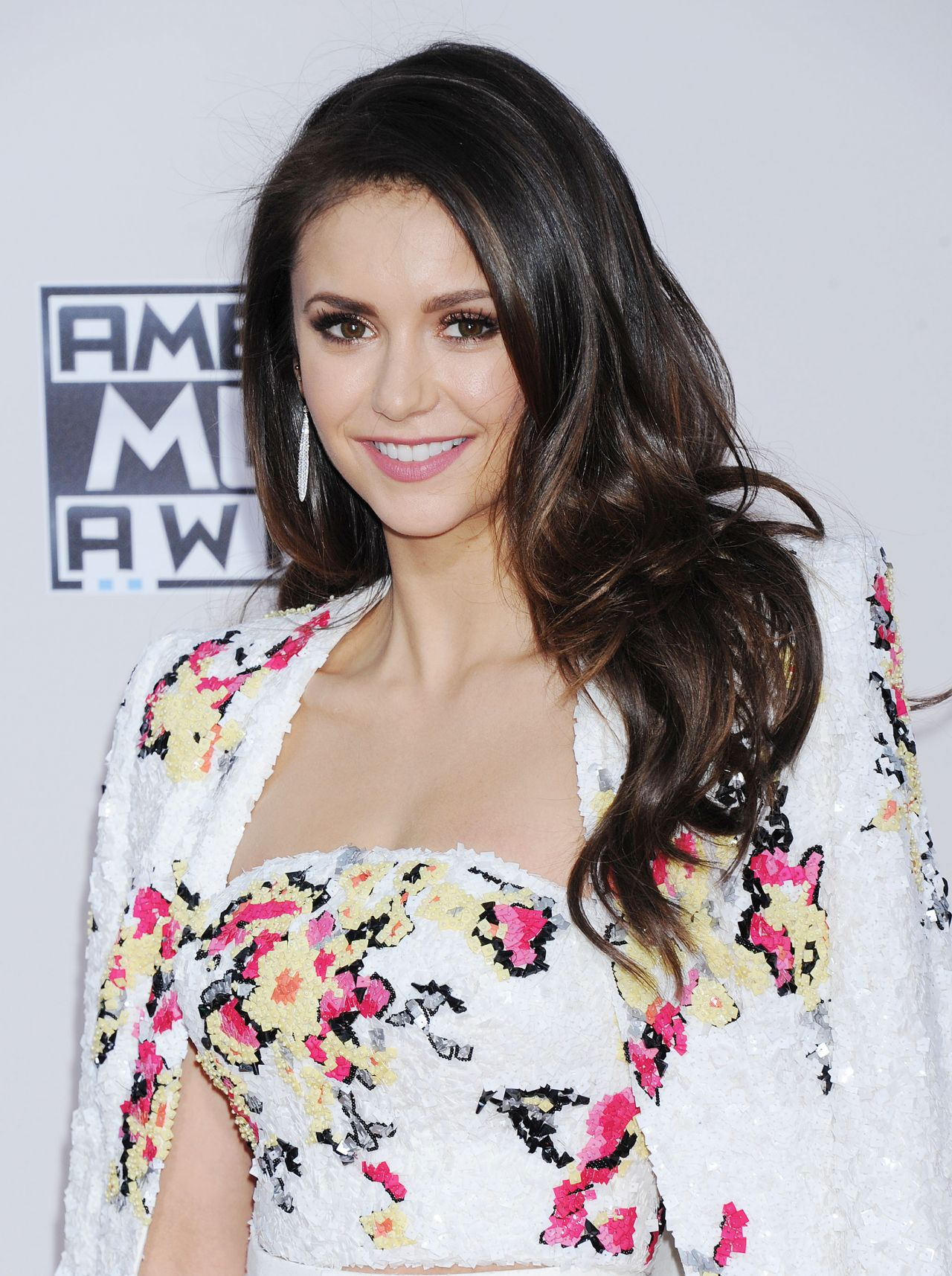 Nina Dobrev 2015 American Music Awards In Los Angeles