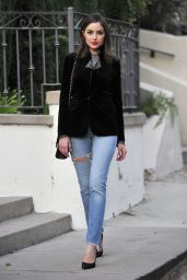 Olivia Culpo Casual Style - Los Angeles, November 2015