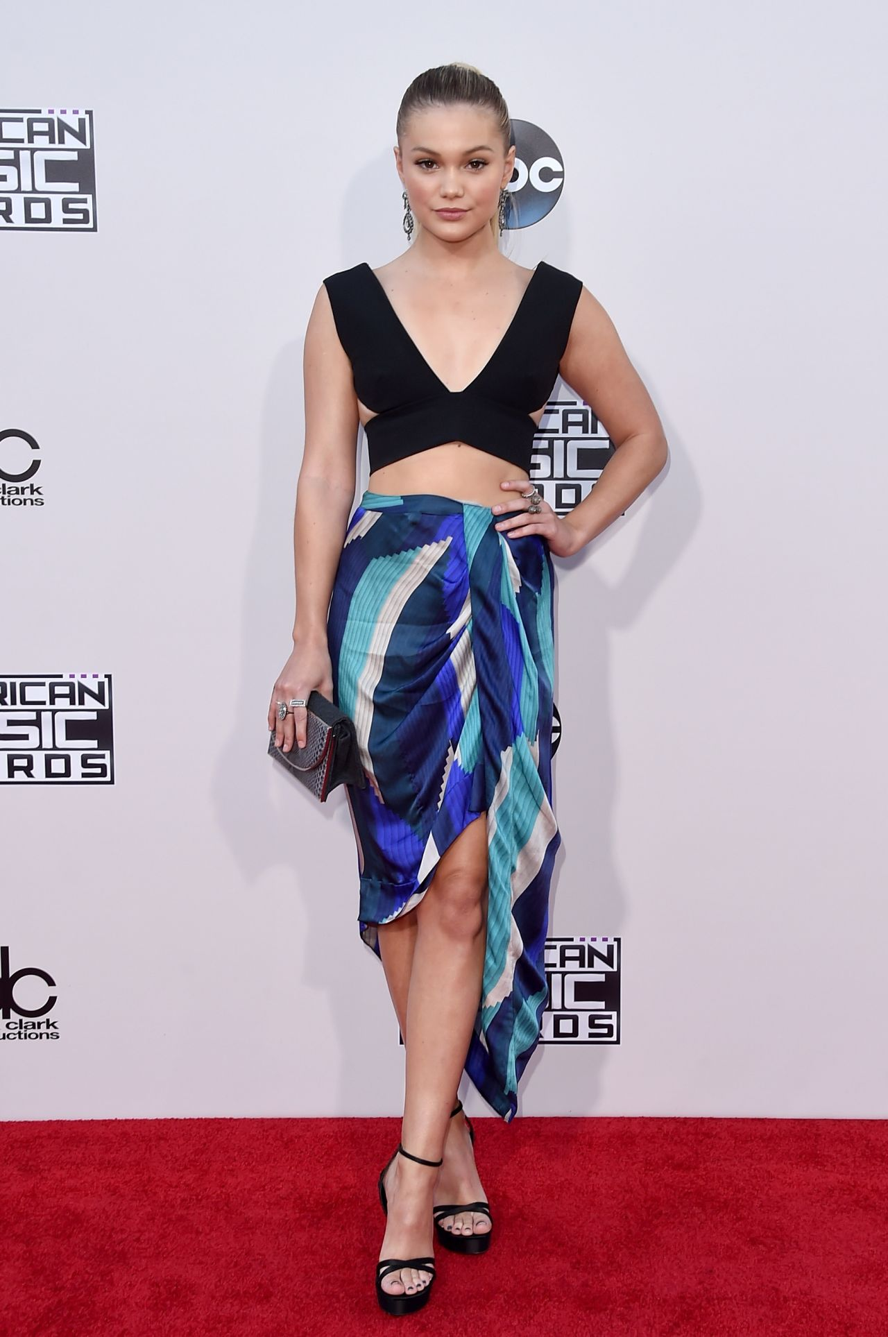 Olivia Holt 2015 American Music Awards In Los Angeles
