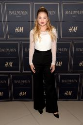 Olivia Holt - Balmain x H&M Los Angeles VIP Pre-Launch in West Hollywood, November 2015
