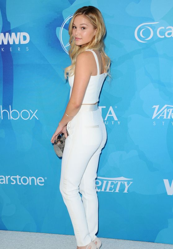 Olivia Holt – WWD And Variety's Stylemakers Event in Culver City, November 2015