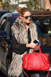 Olivia Palermo - Tribeca in New York City, November 2015