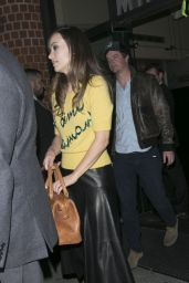 Olivia Wilde Night Out Style - Leaving Mr.Chow