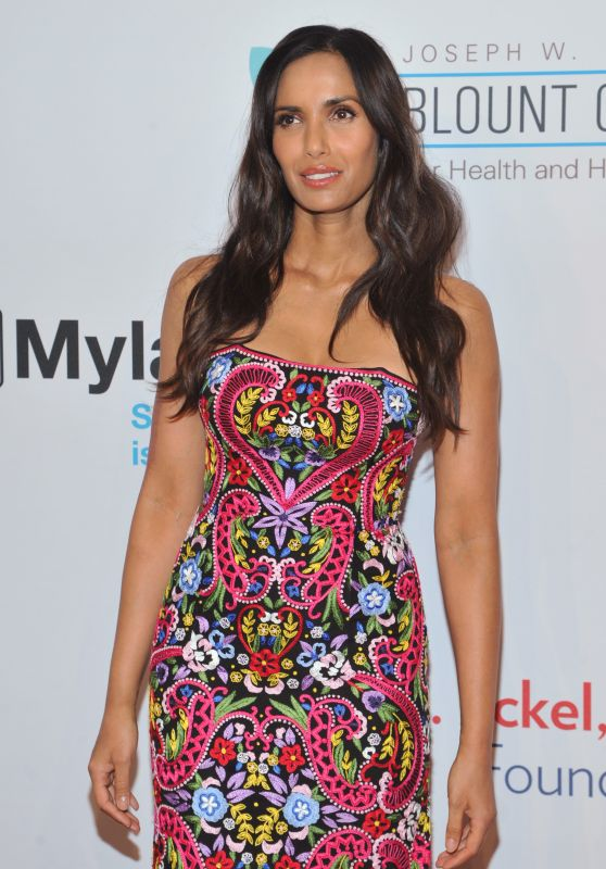 Padma Lakshmi – Elton John's 2015 AIDS Foundation Gala in New York City