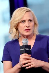 Patricia Arquette at AOL Studios in NYC, November 2015