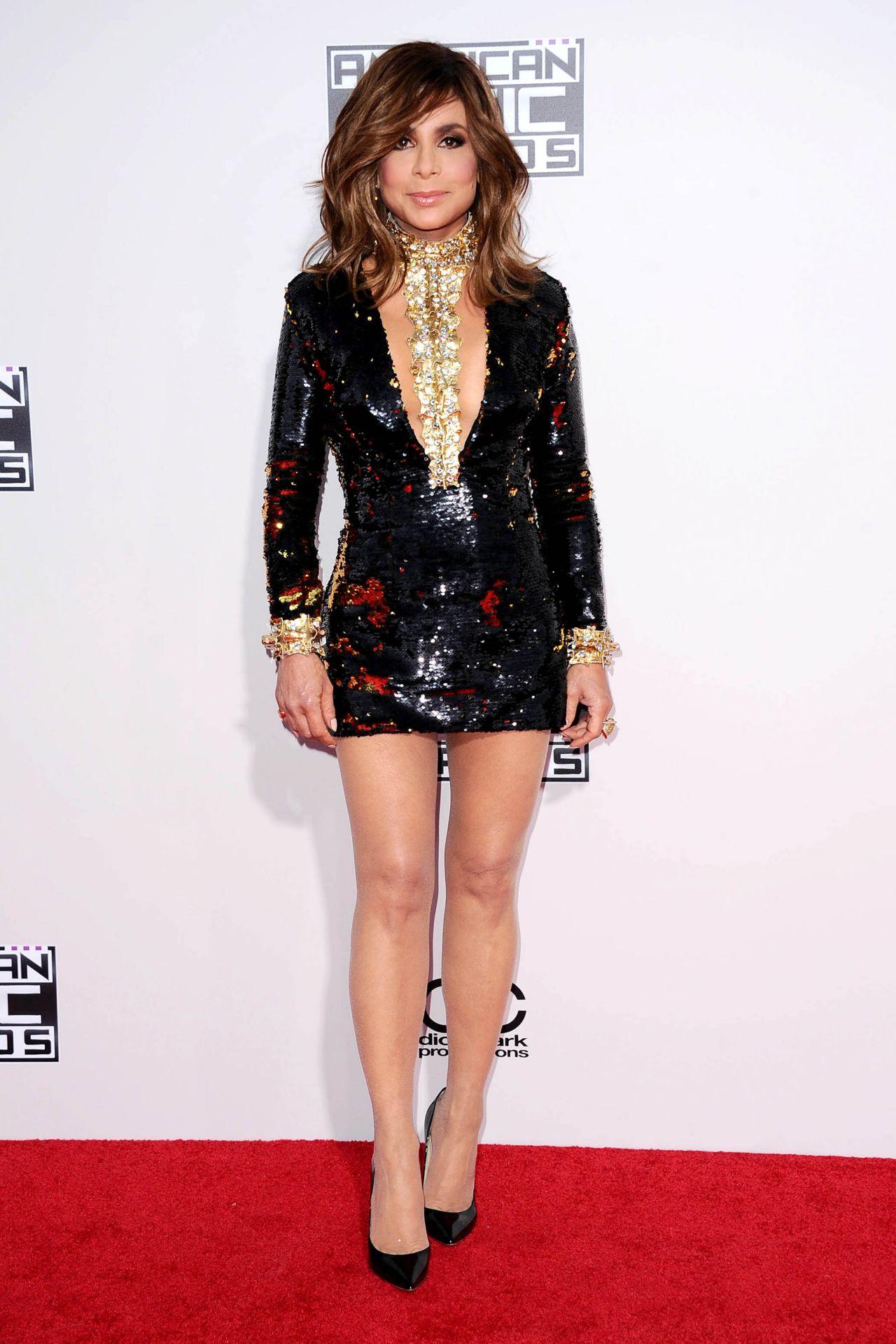 Paula Abdul 2015 American Music Awards In Los Angeles
