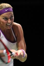 Petra Kvitova – 2015 WTA Finals in Singapore – Semi-Final