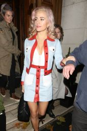 Pixie Lott - Leaving Tape Nightclub in London, November 2015