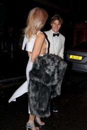 Pixie Lott - Leaving the British Fashion Awards2015  in London