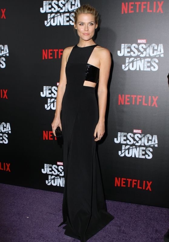 Rachael Taylor - Jessica Jones Premiere in New York