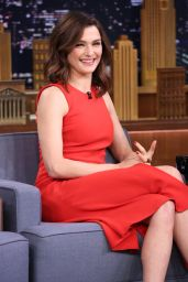 Rachel Weisz - The Tonight Show With Jimmy Fallon in NYC, November 2015