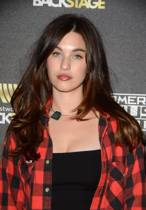 Rainey Qualley - 2015 American Music Awards Radio Row Day 2 in Los Angeles