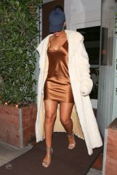 Rihanna Night Out Style - Leaving Giorgio Baldi Restaurant in LA, November 2015