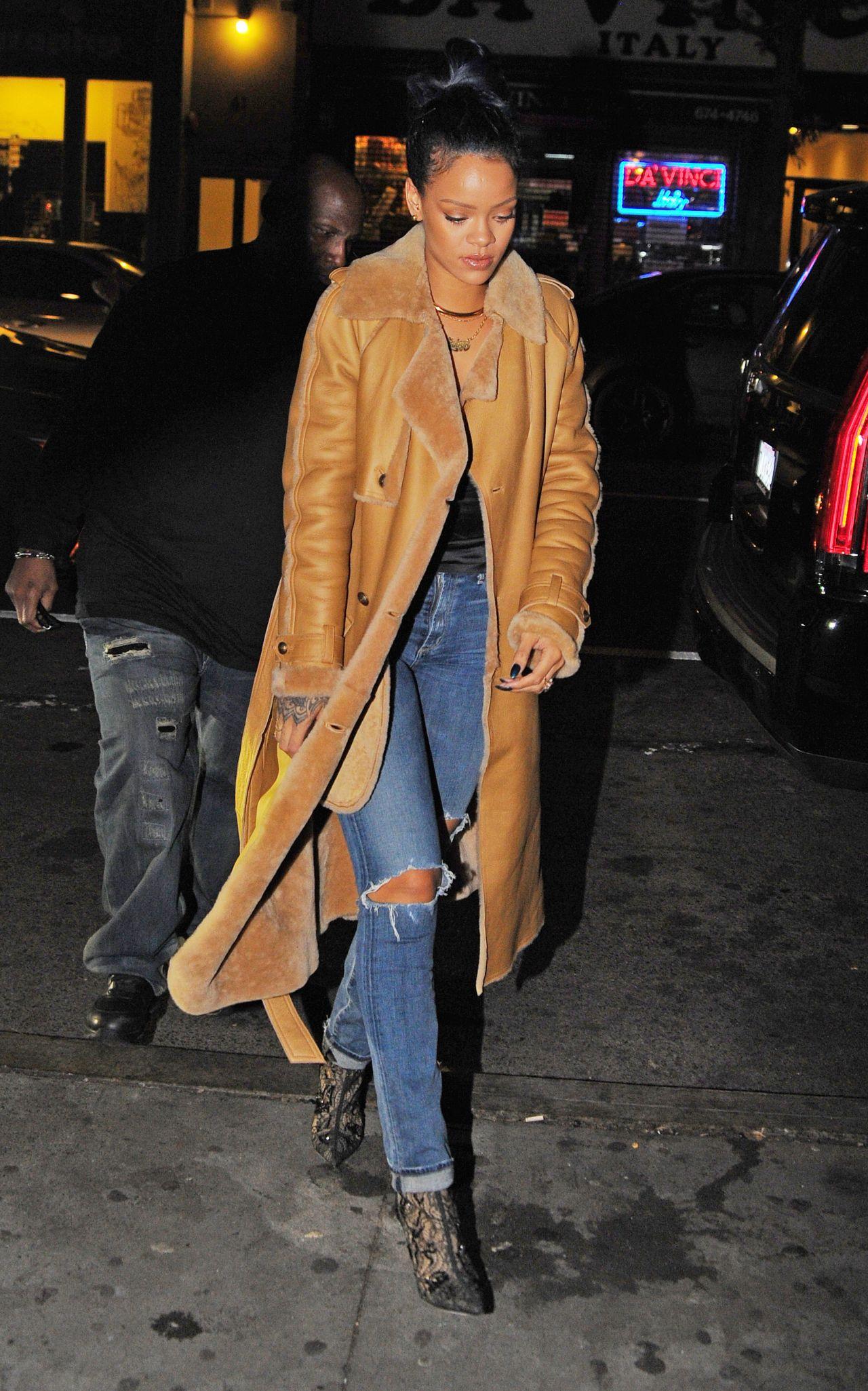 Rihanna Style Sono Nightclub In The West Village