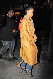 Rihanna Style - Sono Nightclub in the West Village, November 2015