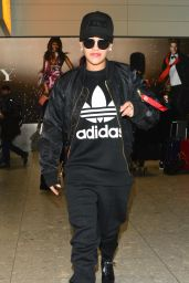 Rita Ora at Heathrow Airport, November 2015