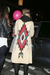 Rita Ora - Celebrating Her 25th Birthday in London, 11/26/2015