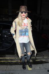 Rita Ora Night Out Style - London, 11/23/2015