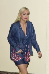 Rita Ora - Outside X Factor studios in London, November 2015