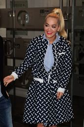 Rita Ora Street Style - London, November 2015